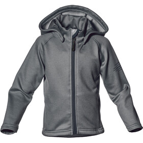 Isbjörn Panda Fleece Hoody Kids Licorice